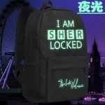 กระเป๋าเป้ Sherlock เรืองแสง