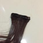 แฮร์พีช ยาวเลยสะดือ สีน้ำตาลเข้ม เส้นผมทำมาจากไหมญี่ปุ่นเป่าลมอุ่นได้ค่ะ ภาพถ่ายจากสินค้าจริง