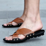 รองเท้าผู้ชาย | รองเท้าแฟชั่นชาย รองเท้าแตะ แฟชั่นไต้หวัน