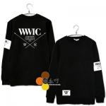 เสื้อแขนยาว Winner YG WWIC Front [คอตตอนแท้100%]