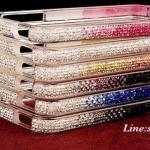 กรอบไอโฟน 6 bumper case iphone 6 เคสสวยขอบประดับเพชรเรียงเม็ดสวยวิ๊บวับเคสหรูหราเข้ากับคุณทุกสี ID: A242