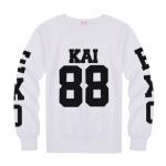 เสื้อแขนยาว KAI-88 black sleeves [EXO]