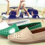 รองเท้าหุ้มส้น ผู้หญิง รองเท้าหนังแท้ แบบเรียบ ๆ ใส่สบาย รองเท้า คัทชู ปิดหน้าเท้า แบบสวย สามารถใส่ได้ทุกงาน สีแดง เขียว ขาว ดำ 589617