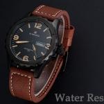 นาฬิกาข้อมือ ผู้ชาย สายหนังแท้ แนวสปอร์ต สไตล์ อังกฤษ สีสันสดใส มีระบบ วันที่ แต่งตะเข็บ ตามสีหน้าปัด แบบสวย มีสไตล์ ของขวัญให้แฟน เท่ ๆ 159322