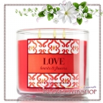 Bath & Body Works Slatkin & Co / Candle 14.5 oz. (Love - Hearts & Flowers)