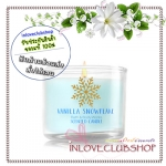 Bath & Body Works Slatkin & Co / Mini Candle 1.3 oz. (Vanilla Snowflake)