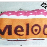 ผ้าห่มสำลี เนื้อนุ่ม สีชมพู กุหลาบ Melody