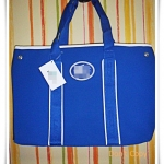กระเป๋าถือ กระเป๋าสะพาย ผู้หญิง สีน้ำเงิน ใบใหญ่ กระเป๋าใส่เสื้อผ้า หนัง Pu กันน้ำอย่างดี สินค้าลดราคา กระเป๋าเดินทางผู้หญิง เก๋ ๆ s002