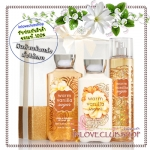Bath & Body Works / Daily Trio Gift Set Box (Warm Vanilla Sugar) *ขายดี