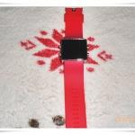 นาฬิกา Nike สายยางระบบดิจิตอลสีแดง