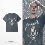 Preorder เสื้อยือด Merallic Bieber