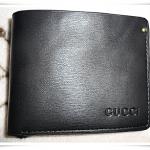 กระเป๋าสตางค์หนังแท้ Gucci สีดำ