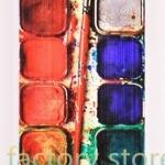 เคส ใส่ iphone 5 5s ลาย Paint สีน้ำ