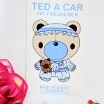 Ted A Car / Air Freshener (Baby Powder)