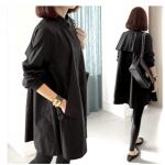 เสื้อสาวอวบ สีดำ XL-4XL
