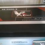 AMP 2CH EAGLE 9000 / 2200WATTS