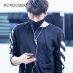 เสื้อแขนยาว 2014 EXO PYREX offwhite
