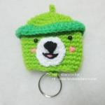 ครอบกุญแจหมีเขียว
