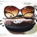 แว่นตากันแดด Chanel สีชา B001
