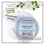 Bath & Body Works - Slatkin & Co / Scentportable Refill 6 ml. (Sweater Weather)