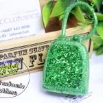 Bath & Body Works / PocketBac Holder (Green Glitter) *ไม่รวมเจลล้างมือ