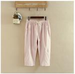 กางเกงสุภาพสตรีอ้วน XL-3XL