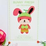 Bunny Fresh / Air Freshener (Melon)
