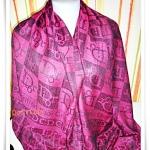 ผ้าพันคอ ผ้าคลุมไหล่ผ้าไหม Chrition Dior