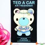 Ted A Car / Air Freshener (Ocean)