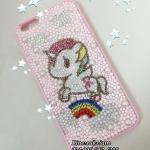 Tokidoki Handmade on Case iPhone 6 Plus crystal เคสไอโฟนคริสตัลแบบใหม่งานสั่งทำเคสมือถือลายน่ารักสำหรับคนรักเคสลายการ์ตูน ID: A265