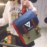 กระเป๋าเป้ SEVENTEEN สีน้ำเงิน