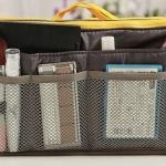 กระเป๋าจัดระเบียบของ กระเป๋าเครื่องสำอางค์ กระเป๋าใส่ของจุกจิก กระเป๋าแยกของ เหมาะสำหรับใช้เป็น กระเป๋าเดินทางขนาดเล็ก สีเทา no 38452_4