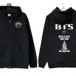 Preorder เสื้อกันหนาวฮู๊ดดี้ BTS