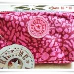 กระเป๋าใส่เศษสตางค์ Kipling สีชมพูลาย K312