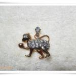 จี้ห้อยคอ ประจำราศีเกิด นักษัตร ปีวอก วานร ลิง