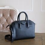 48579290216e Givenchy Black Goat Skin Mini Antigona Satchel(ใบเสร็จ Central Embassy)