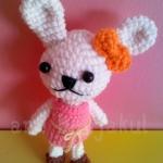 ตุ๊กตาถัก กระ่ต่าย