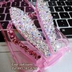 เคสคริสตัล samsung galaxy S6 bling case iPhone 6 และ ไอโฟน 6 พลัส เคสคริสตัลรูปกระต่ายฟรุ้งฟริ้ง น่ารักสุด ๆ ID: A286