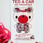 Ted A Car / Air Freshener (Rose)