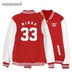 เสื้อเบสบอล winner Minho