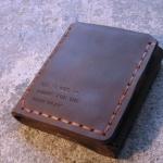 กระเป๋าสตางค์หนังแท้ กระเป๋าผู้ชาย สีน้ำตาล สไตล์วินเทจ จากหนังเรื่อง The Secret Life Of Walter Mitty กระเป๋าสตางค์สวย ๆ ให้แฟน 105617