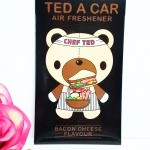 Ted A Car / Air Freshener (Bacon Cheese)