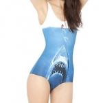 ชุดว่ายน้ำวันพีช ลายปลาฉลาม และ นางเงือกน้อย ขนาด Free Size สินค้านำเข้า no 811981