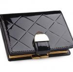 กระเป๋าสตางค์ผู้หญิง ใบสั้น กระเป๋าสตางค์ หนังแท้ หนังแก้ว ใส่บัตรได้เยอะ มีช่อง แป๊ก สำหรับ ใส่เหรียญ มีกระดุมปิด หนังเงา สวยหรู ราคาถูก 332467