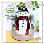 Bath & Body Works Slatkin & Co / Candle Sleeve 14.5 oz. (Glitter Snowman #แบบที่ 3)