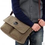 กระเป๋าผู้ชาย | กระเป๋าผ้าฝ้ายแฟชั่นชาย กระเป๋าสะพายข้าง