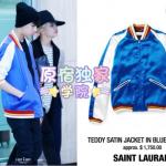 Preorder เสื้อแจ็คเก็ต Got7 style แบรนด์ Saint Laurant