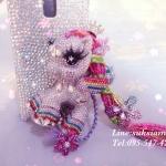 เคสมือถือสวยอลังการ Case Samsung Galaxy Note 4 my little pony handmade case crystals สั่งทำของขวัญวันเกิดด้วยเคสคริสตัลโพนี่
