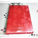ผ้าห่มแพร สีแดงสด 5 ฟุต P104