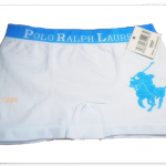 กางเกงในชาย บ๊อกเซอร์ Polo สีขาว A018